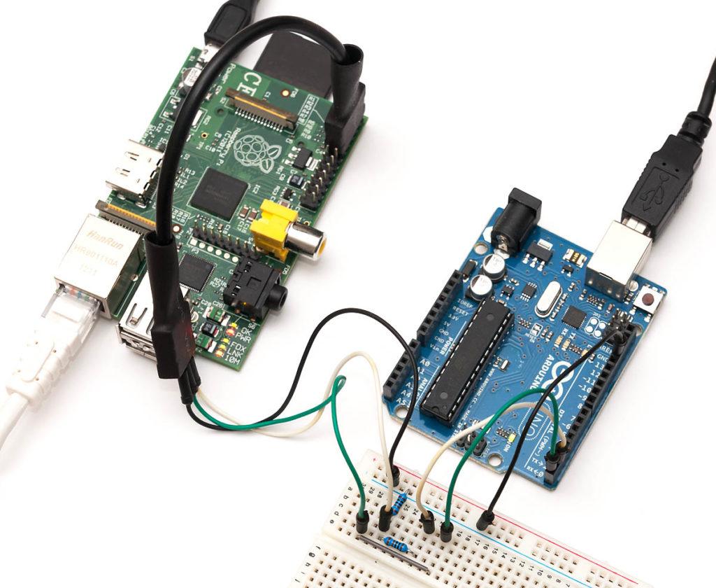 Usando o Raspberry Pi com Arduino